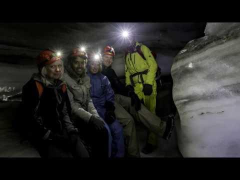 Svalbard Part 1 - Longyearbyen - Ice Cave Tour & Captain's Choice Tour