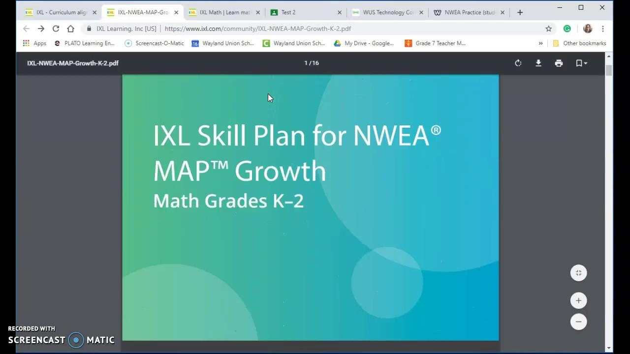 NWEA Practice (students) - Wilson's