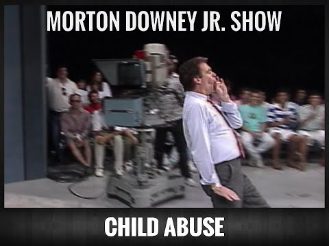 Morton Downey Jr : Child Abuse