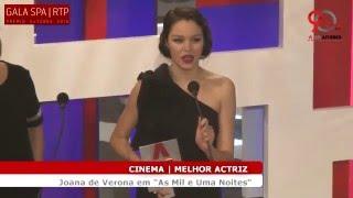 Prémio Autores 2016 | Melhor Actriz | Joana de Verona