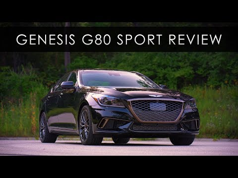 Review 2018 Genesis G80 Sport Short on Sport