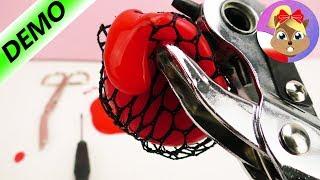DZIURKACZ vs. SQUISHY MESH BALL | Czemu oprze się piłeczka antystresowa? | Baw się ze mną