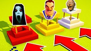 DO NOT CHOOSE THE WRONG WELL (SLENDRINA, HELLO NEIGHBOR, GRANNY)(Ps3/Xbox360/PS4/XboxOne/PE/MCPE)