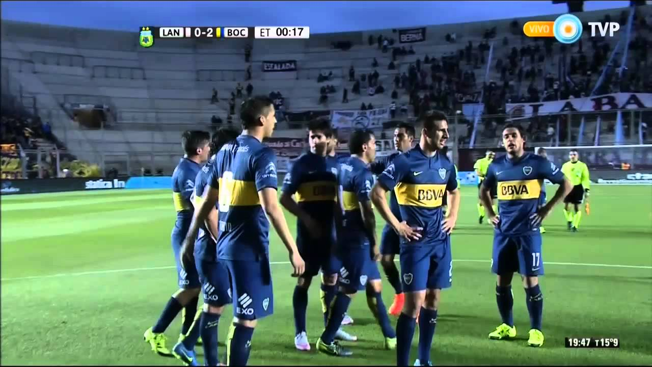 Lanus 0-2 Boca Juniors