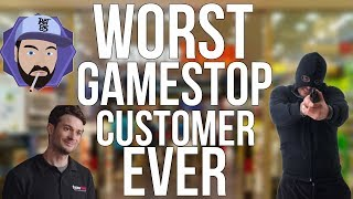 The WORST GameStop Customer EVER | Ask RGT 85
