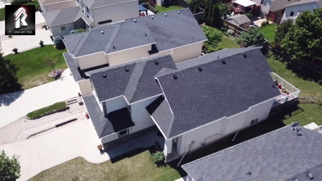 Roofco Re Roofing Home In River Heights Winnipeg Mb Youtube