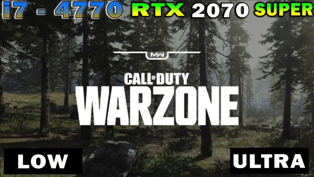 Call Of Duty Modern Warfare WarZone - Graphic Test Comparison 1