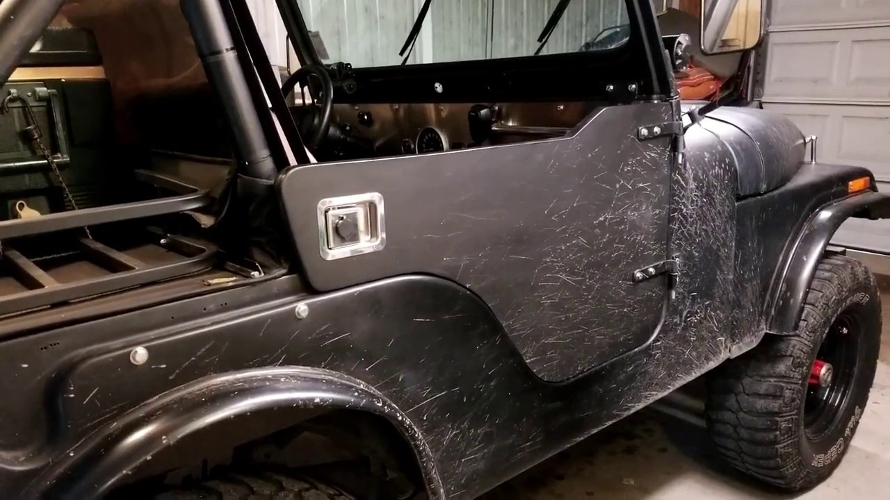 medium resolution of jeep cj5 homemade half doors