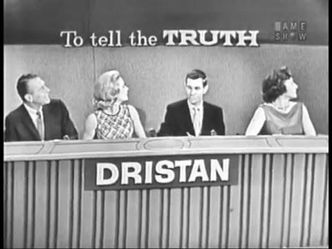 To Tell the Truth  5th Anniversary; PANEL: Dina Merrill, Johnny Carson, Betty White Dec 18, 1961