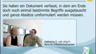 Bearbeiten und Korrekturlesen von Dokumenten - Änderungen vornehmen(, 2012-05-23T06:47:59.000Z)