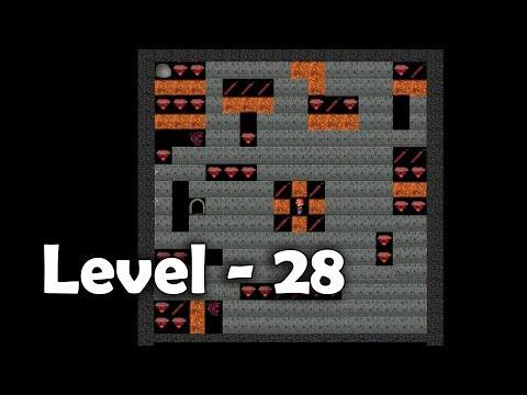 Diamond Mine Level 28 Collected All  30 Diamonds