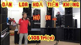 Bộ dàn âm thanh nhạc sống Hỏa Tiễn khủng về Huế. LOA HỎA TIỄN NHẬP TN24 CAO CẤP. ÂM THANH KHỦNG.