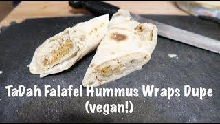 TaDah Falafel Hummus Wraps Dupe (vegan!)