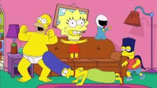 Harlem shake в рекламе нового сезона сериала Simpsons.720