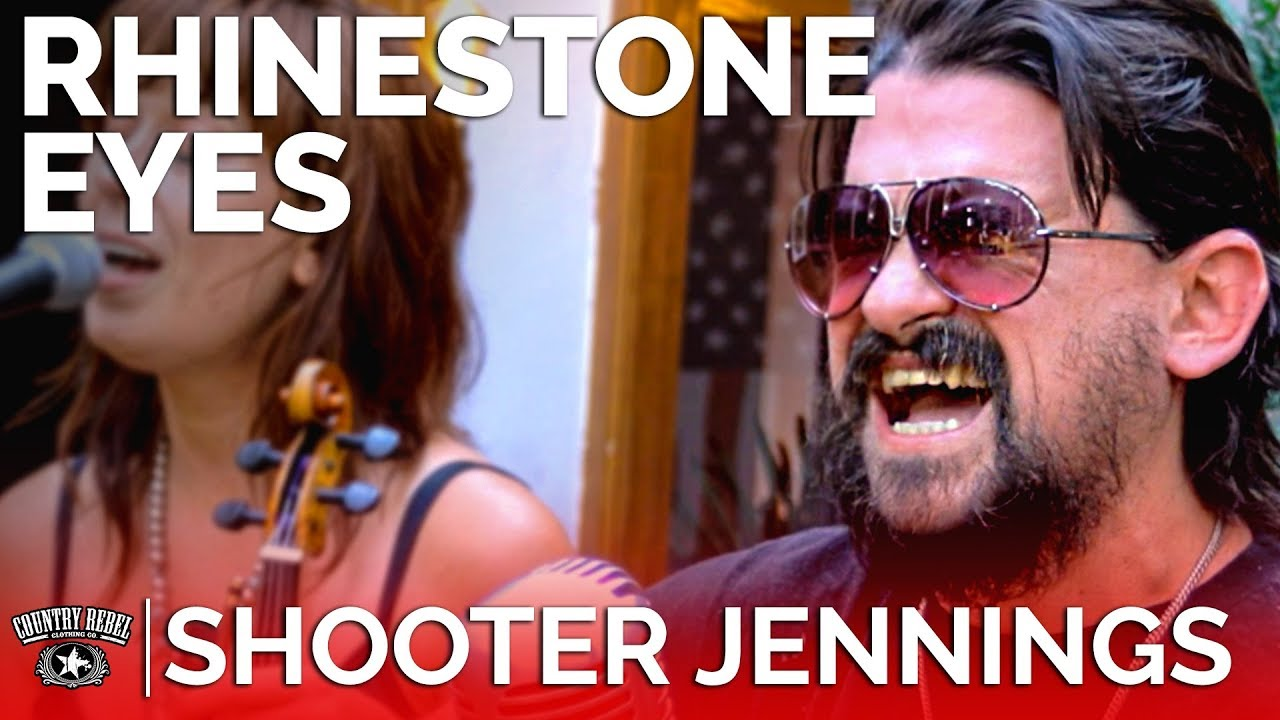Shooter Jennings — Rhinestone Eyes (Acoustic) // Country Rebel HQ Session