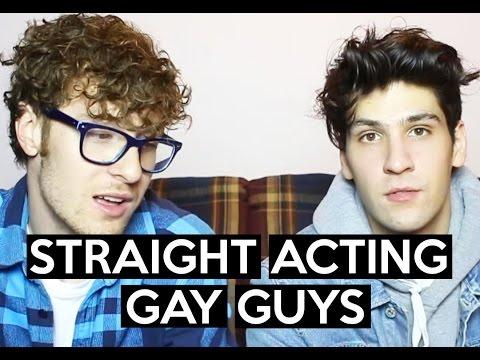 Boy acting gay
