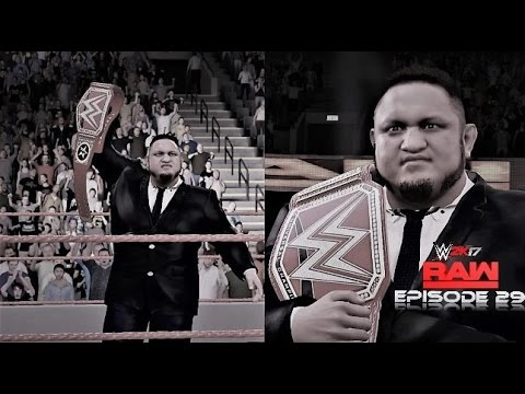 WWE 2K17 Monday Night Raw Story Mode Episode 29