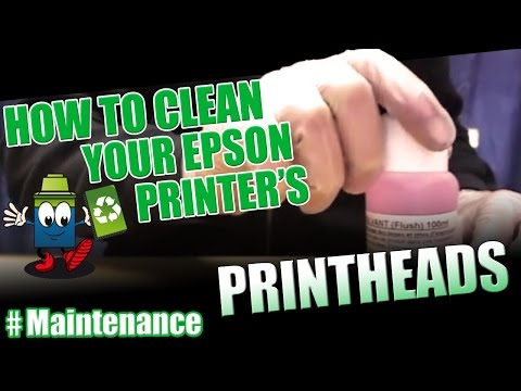 How to clean your Epson Printer's printhead