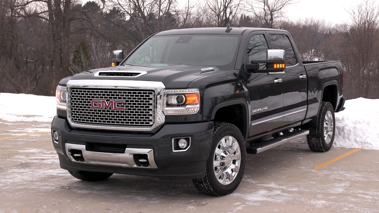 2017 GMC Sierra Denali 2500 HD - YouTube