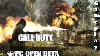 LET THERE BE FLAMETHROWERS! (CALL OF DUTY WW2 PC MULTIPLAYER GAMEPLAY!)