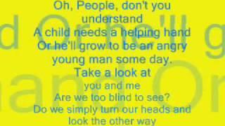 Elvis Presley-In the Ghetto (Lyrics)