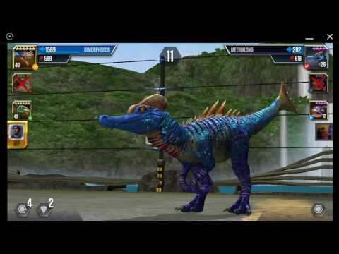 Jurassic World: The Game - Player Duel Battle 746 - TANYCOLAGREUS
