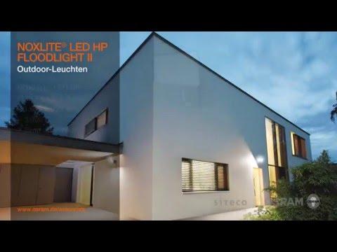 osram noxlite led floodlight ii moderne flutlichtstrahler. Black Bedroom Furniture Sets. Home Design Ideas