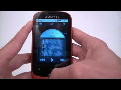 Alcatel OT-990 hands on
