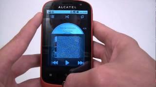 Alcatel OT-990 hands on