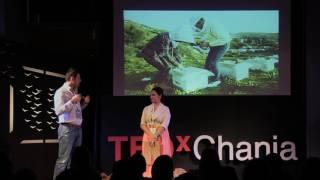 Καινοτόμα επιχειρηματικότητα στην Κρίση: Μέλι και χρυσός | Yannis Karypidis | TEDxChania