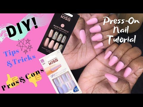 Press On Nail Tutorial: DIY Tips & Tricks, Pros & Cons thumbnail