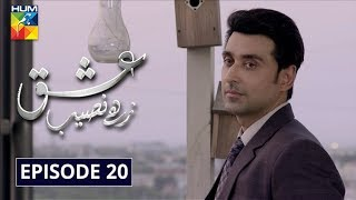 Ishq Zahe Naseeb Episode 20 HUM TV Drama 1 November 2019