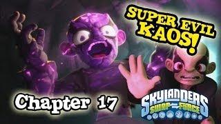 Let's Play Skylanders SWAP FORCE - Chapter 17 Cloudbreak Core SUPER EVIL KAOS BATTLE! (Hard Mode)
