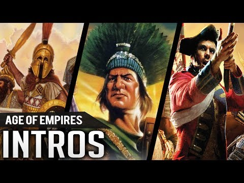 All Intros Of AGE OF EMPIRES (1997-2017)