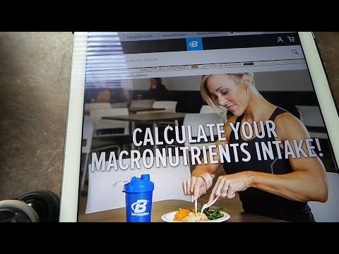 HOW TO CALCULATE MACROS FOR WEIGHT LOSS, GAIN, OR MAINTAIN | 9 WEEKS OUT