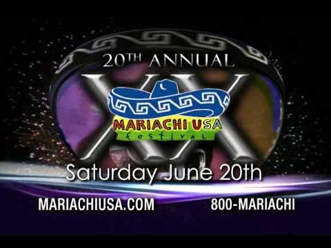 20th Annual MARIACHI USA Festival TV commercial