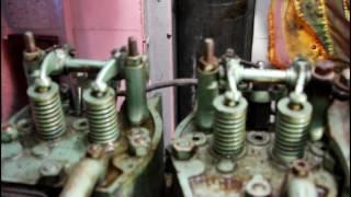 Le Suave 4 : Mise en marche du moteur Baudouin