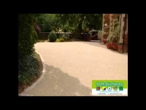 Decorative Resin Bound Gravel Stone Driveway Surfacing