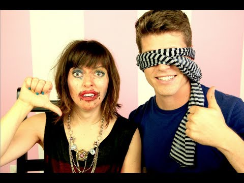 Blindfolded Makeup Challenge with TJ SMITH