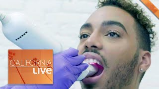 Straighten Your Teeth With The Smile Direct Club (Sponsored) | California Live | NBCLA