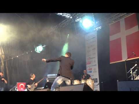 Mustafa Sandal - İndir Live (Kopenhag - Anadolu Kültür Günleri 2014)