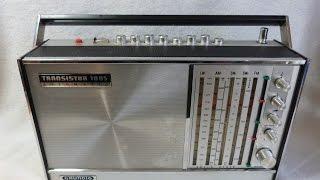 1970 Grundig Transistor 1005 AM/FM/SW radio (made in Germany)