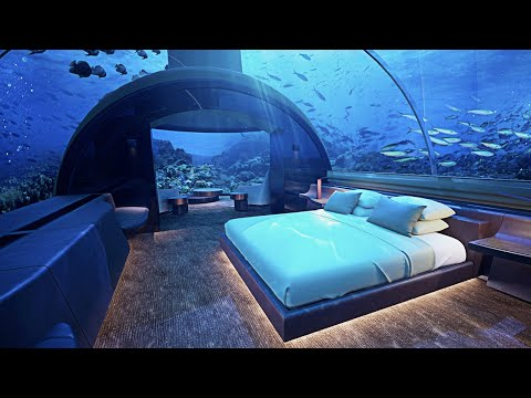The Most Luxurious Underwater Hotel Rooms