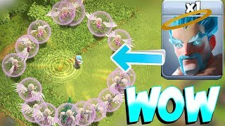 HE IS BACK!! IMMORTAL WIZARD!! | Clash Of Clans | ICE WIZ FUN!!