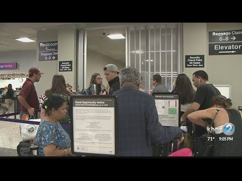 New TSA checkpoint added to alleviate holiday rush at Honolulu's airport