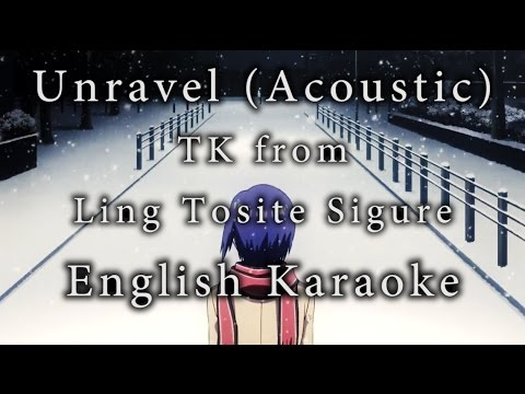 Unravel Acoustic Karaoke [English]