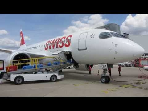 [Flight Report] SWISS | Paris ✈ Zurich | Bombardier CS100 | Business