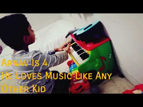 AUTISM Piano Music Therapy - Tips Tricks Toys #20 Play Piano by Melissa & Doug Fine Motor Fun