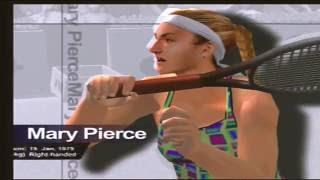 Sega Sports Tennis Trailer Demo