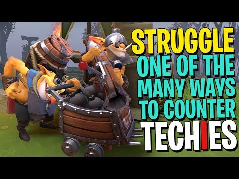 The Ultimate Struggle of Techies - DotA 2
